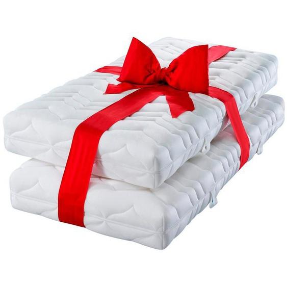 Komfortschaummatratze »Luxus20«, my home, 20 cm hoch, Raumgewicht: 30, (Set, 2-tlg), Sparen im Doppelpack - alle Größen = 1 Preis!