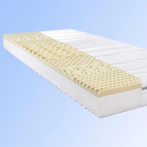 Komfortschaummatratze , belastbar bis 100 kg, 7 Zonen, 1x 100x200cm, Allergiker, »My Sleep Visko«, BeCo