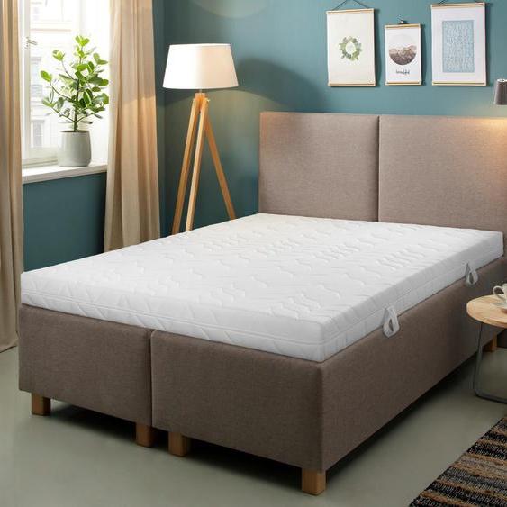 Komfortschaummatratze + Rollrost »Smart M & Quick 28«, 90x200x16.5 cm (BxLxH), 7-Zonen, Beco EXCLUSIV, Material Komfortschaum