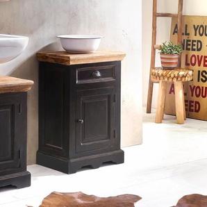 Kommode , schwarz, Landhaus-Stil, »Corsica«, , , FSC®-zertifiziert, SIT