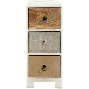 Kommode kunsthandwerklich gefertigt, H/B/T ca. 90/30/30cm, 4 Schubläden, heine home