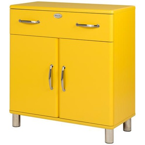 Kommode  Malibu ¦ gelb ¦ Maße (cm): B: 86 H: 92 T: 41 Kommoden & Sideboards  Kommoden » Höffner