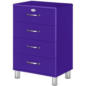 Kommode  Malibu ¦ lila/violett ¦ Maße (cm): B: 60 H: 92 T: 41 Kommoden & Sideboards  Kommoden » Höffner