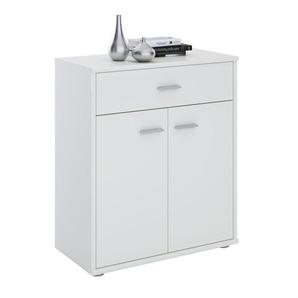 Kommode TOMMY in mit Schublade in weiß