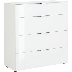 : Kommode, Weiß, B/H/T 91 100 40