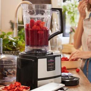 Kompakt-Küchenmaschine - Schwarz - Edelstahl -