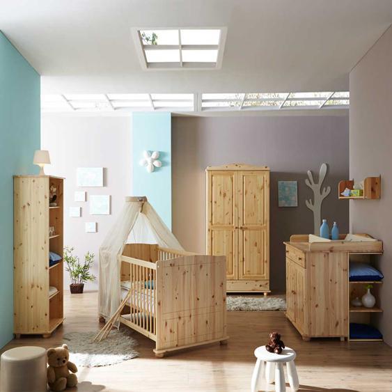 Komplett Babyzimmer aus Kiefer komplett (5-teilig)
