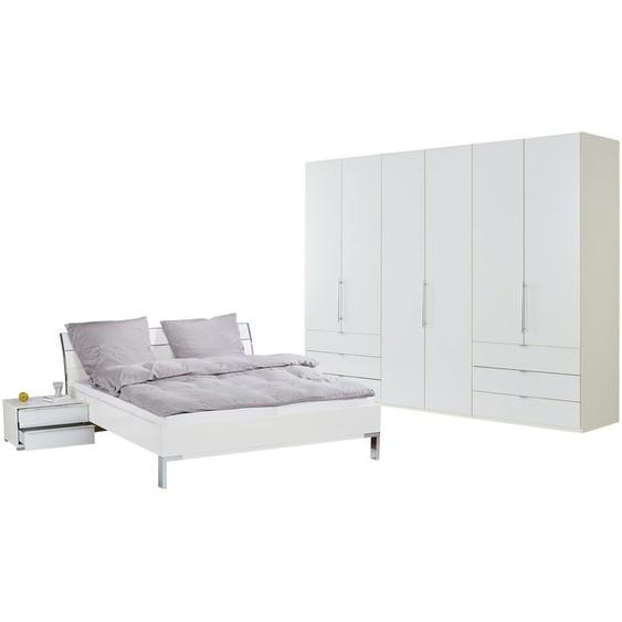Komplett-Schlafzimmer 4-teilig  Beda ¦ weiß