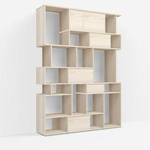 Konfigurierbare Bücherregal Esche - Furnier