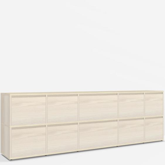 Konfigurierbare Sideboard Esche - Furnier