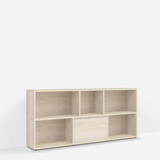 Konfigurierbare TV Möbel aus Esche - Furnier