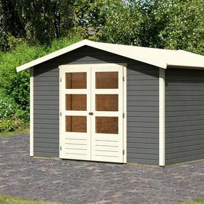 KONIFERA Gartenhaus »Carlberg 6«, BxT: 337x341 cm, (Set)