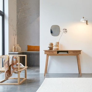 Konsole aus massivem Akazienholz im skandinavischen Stil 117 Oslo