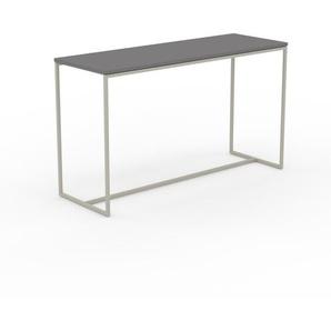 Konsolentisch Grau - Eleganter Konsolentisch: Beste Qualität, einzigartiges Design - 121 x 71 x 42 cm, konfigurierbar