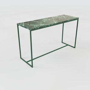 Konsolentisch grüner Guatemala, Marmor - Eleganter Konsolentisch: Beste Qualität, einzigartiges Design - 121 x 72 x 42 cm, konfigurierbar