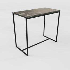 Konsolentisch Marmor, Schwarzer Marquina - Eleganter Konsolentisch: Beste Qualität, einzigartiges Design - 81 x 71 x 42 cm, konfigurierbar