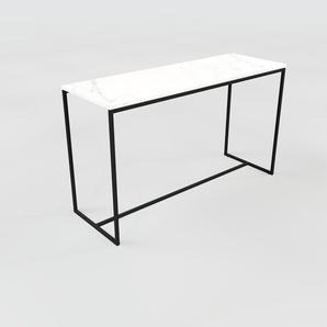Konsolentisch Marmor, Weißer Carrara - Eleganter Konsolentisch: Beste Qualität, einzigartiges Design - 121 x 71 x 42 cm, konfigurierbar