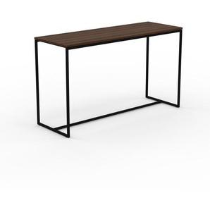 Konsolentisch Nussbaum, Holz - Eleganter Konsolentisch: Beste Qualität, einzigartiges Design - 121 x 71 x 42 cm, konfigurierbar