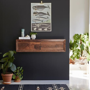 Konsolentisch Sideboard Wandschrank aus Palisanderholz 120 cm Neu