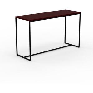 Konsolentisch Burgundrot - Eleganter Konsolentisch: Beste Qualität, einzigartiges Design - 121 x 71 x 42 cm, konfigurierbar