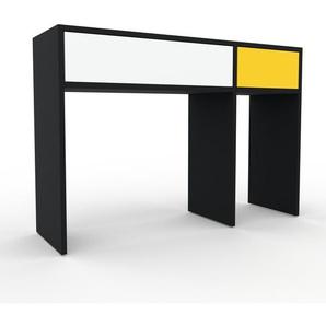 Konsolentisch Schwarz - Eleganter Konsolentisch: Beste Qualität, einzigartiges Design - 116 x 80 x 35 cm, konfigurierbar