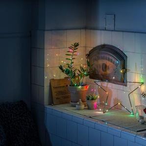 KONSTSMIDE Micro LED Lichterkette, mit langsamem und schnellem Farbwechsel
