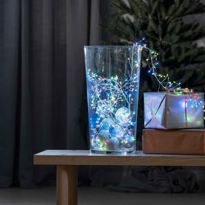 KONSTSMIDE Micro LED Büschellichterkette, Drahtlichterkette