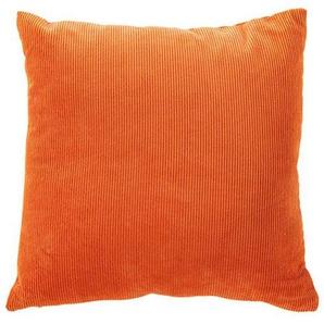 Kordkissenhülle orange - bunt - 100 % Polyester - Zierkissen & Polsterrollen  Zierkissen - Kissenbezüge