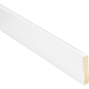 Sockelleiste gerade 2500 x 60 x 13 mm Uni weiß