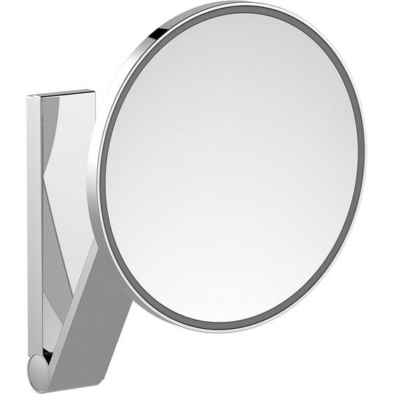 Kosmetikspiegel iLook Move 17612 rund beleuchtet Chrom UP Raumlichtschalter
