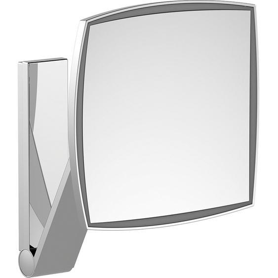 Kosmetikspiegel iLook Move 17613 eckig beleuchtet Chrom UP Raumlichtschalter