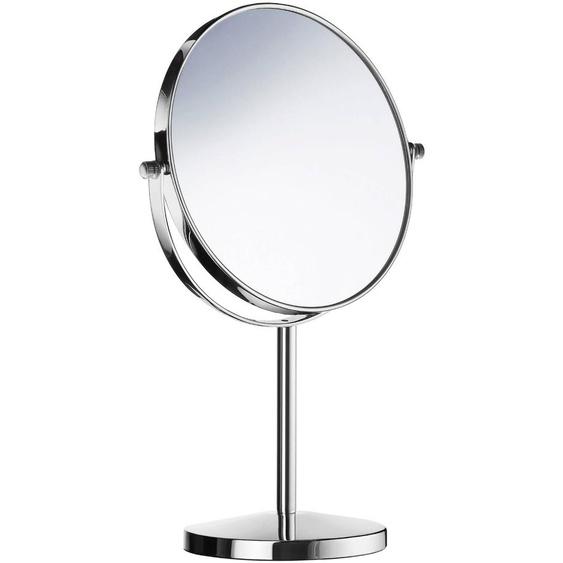 Kosmetikspiegel, Silber