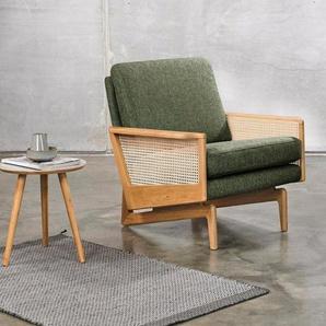 KRAGELUND Sessel »Egsmark«, K202, mit Holzarmlehne