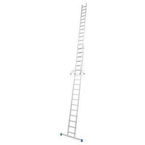 KRAUSE Schiebeleiter Stabilo 2x 18 Stufen