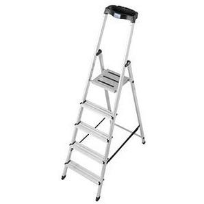 KRAUSE Stehleiter MONTO Safety 5 Stufen