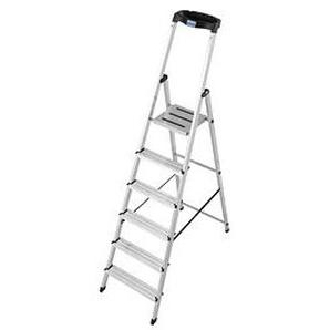 KRAUSE Stehleiter MONTO Safety 6 Stufen
