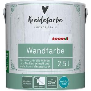 Kreidefarbe Wandfarbe leinengrau kreidig-matt 2,5l