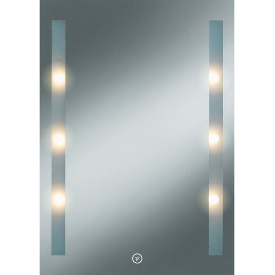 Kristall-Form EEK: A-A++ LED-Lichtspiegel Moonlight 70 cm x 50 cm