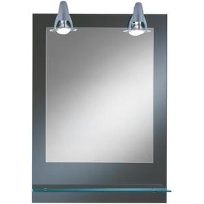 Kristall Form Lichtspiegel Pierre mit Ablage 50 x 70