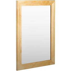 Kristall Form Rahmenspiegel Holz Halvar 35 x 51