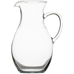 Krug  Classic ¦ transparent/klar ¦ Glas  ¦ Maße (cm): H: 20,2 Gläser & Karaffen  Karaffen, Krüge » Höffner