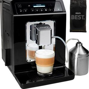 Kaffeevollautomat Evidence EA8918 schwarz, Krups