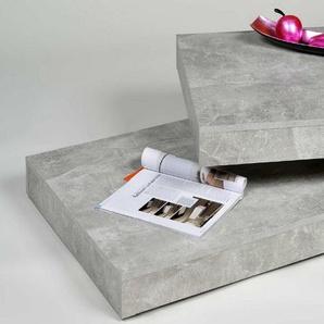 Küchen-Preisbombe Couchtisch »Wohnzimmer Couchtisch Sofatisch Beistelltisch Tisch Couch Beton schwenkbar«