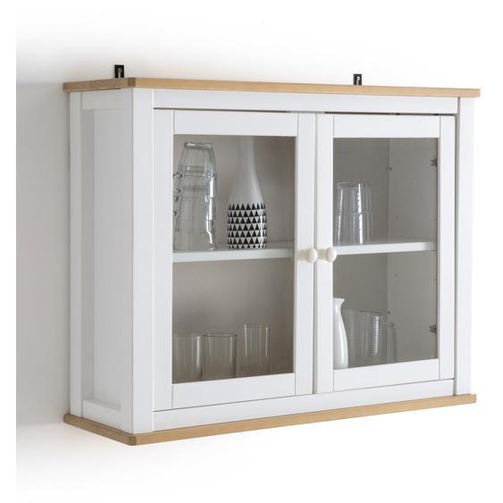 Küchenhängeschrank Alvina, Kiefer Massiv Mit Glastüren