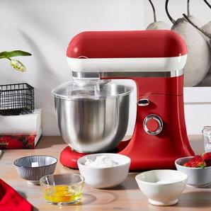 Küchenmaschine - creme - Edelstahl -