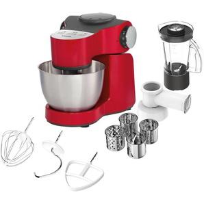 Küchenmaschine, rot, Material Edelstahl, Krups