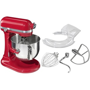 Küchenmaschine, rot, Material Metall, KitchenAid, robust