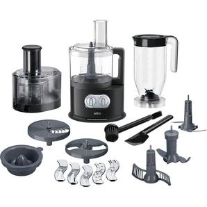 Küchenmaschine, schwarz, Braun