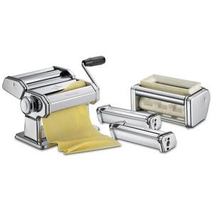 Küchenprofi Set Classic PASTACASA Nudelmaschine, Edelstahl, Silber, 28 x 21 x 21 cm, 2-Einheiten