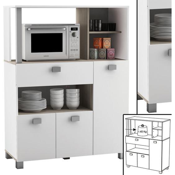 Küchenschrank 146 Schrank Küchenregal Küchenmöbel Mikrowelle